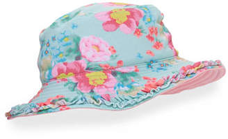 Seafolly Spring Bloom Reversible Swim Hat, Multicolor