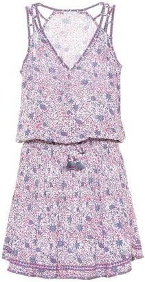 Poupette St Barth Ola printed minidress