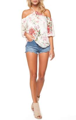 Dex Poppy Garden Blouse
