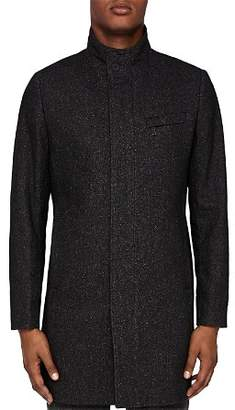 Ted Baker Marvin Funnel Neck Overcoat