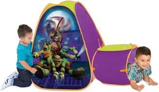 Play-Hut Teenage Mutant Ninja Turtles Tent & Tunnel Hide About by Playhut