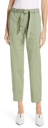 Nordstrom Signature Center Seam Drawstring Stretch Cotton Pants