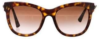 Giorgio Armani Tinted Tortoiseshell Sunglasses