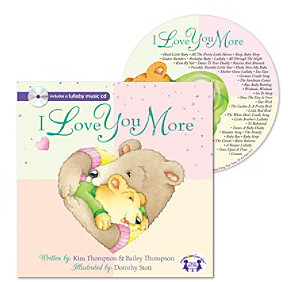 Twin Sisters I Love You More Padded Book and Music CD
