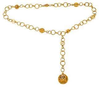 Chanel Medallion Crystal Belt