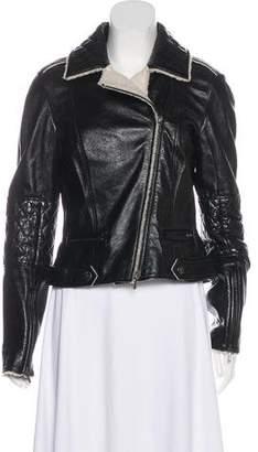 Chanel Lambskin Biker Jacket