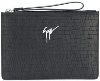 Giuseppe Zanotti Design Marcel clutch bag