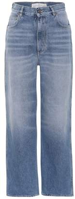 Golden Goose Kim cropped wide-leg jeans