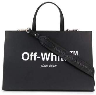 Off-White logo box bag