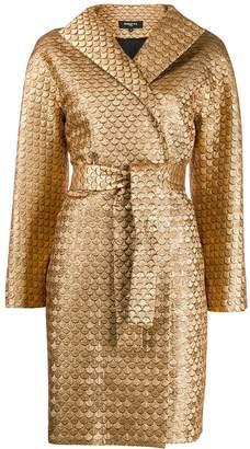 Paule Ka fishscale belted coat