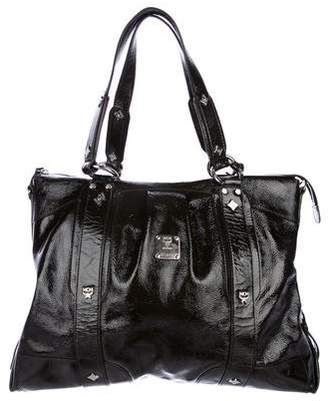 MCM Patent Leather Tote
