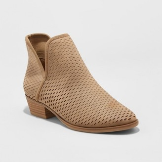 Women's Lucile Cut Out Perforated Booties - Merona $34.99 thestylecure.com