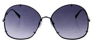 Max Mara Oversize Gradient Sunglasses