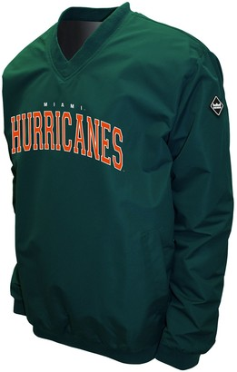 NCAA Men's Franchise Club Miami Hurricanes Windshell Pullover