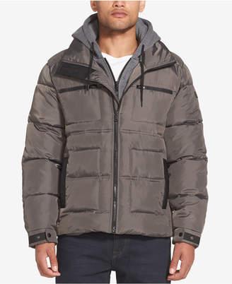 Sean John Men's Layered Puffer Jacket