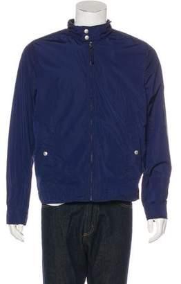 Jack Spade Woven Zip Jacket