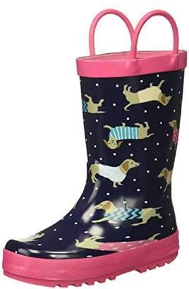 Carter's Girls' POPPY2-R Novelty Slipon Rain Boot