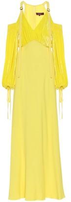 Sies Marjan Carter silk and cotton maxi dress