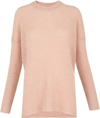 Whistles Mohair Split Side Sweater