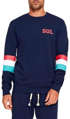 Sol Angeles Men's Sol Striped Sweatshirt