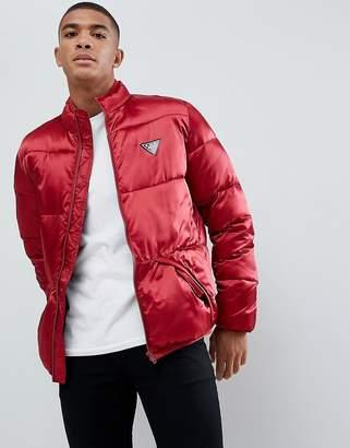 Love Moschino Satin Look Puffer Jacket