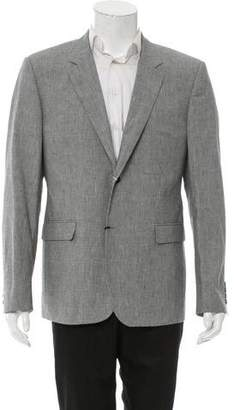 Calvin Klein Collection Houndstooth Two-Button Blazer w/ Tags