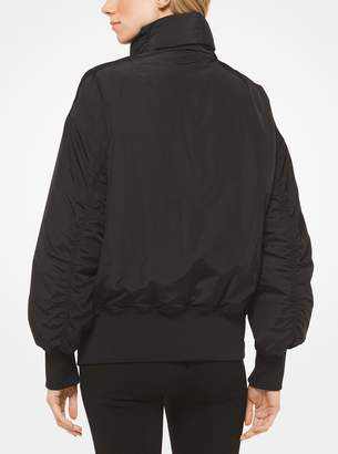 MICHAEL Michael Kors Quilted Nylon Bomber Jacket