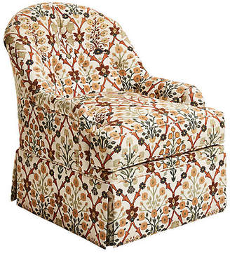 One Kings Lane Marlowe Swivel Club Chair - Cintra