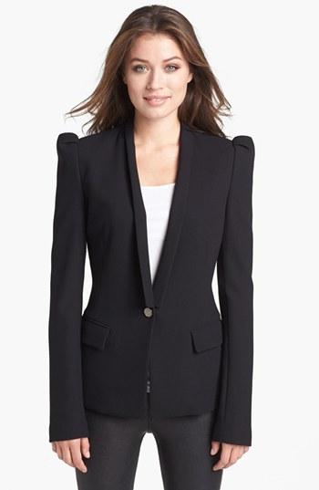 Rachel Roy Wool Blend Tuxedo Jacket