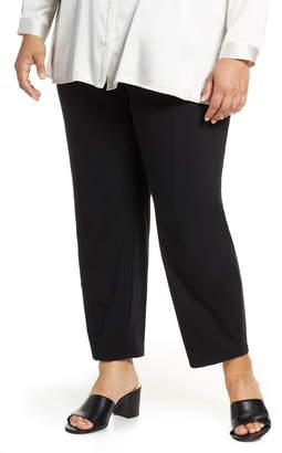 Eileen Fisher Stretch Organic Cotton Lantern Pants