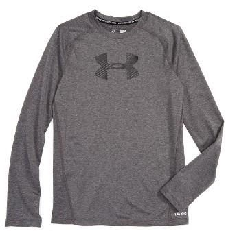 Boy's Under Armour Heatgear Long Sleeve T-Shirt
