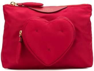Anya Hindmarch Heart Clutch