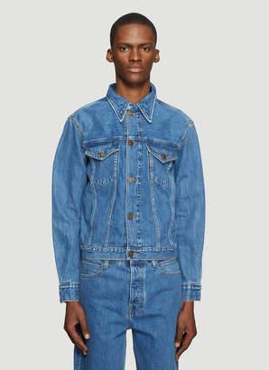 Calvin Klein Est 1978 Denim Jacket in Blue