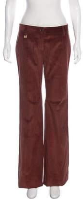 Dolce & Gabbana Corduroy Mid-Rise Wide-Leg Pants