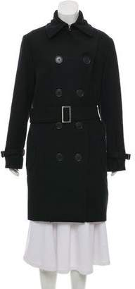 Chloé Wool Double-Breasted Coat