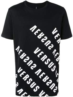 Versus logo printed short sleeve T-shirt