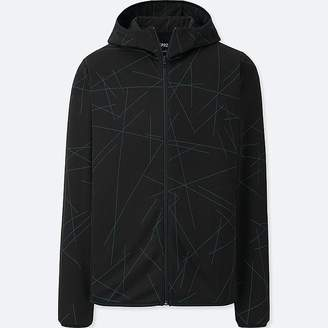 Uniqlo Men's Sprz Ny Dry-ex Long-sleeve Full-zip Hoodie (francois Morellet)
