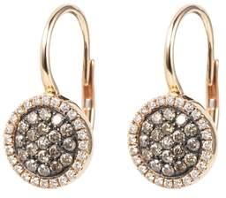 Olivia Grace Venezia Rose Gold Drop Earrings