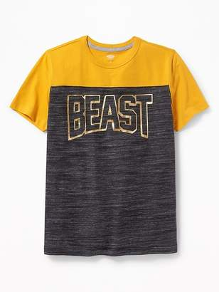 Old Navy Graphic Football-Style Tee for Boys
