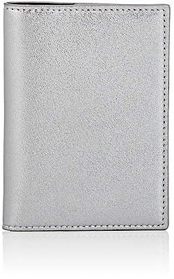 Barneys New York Men's Passport Case - Silver