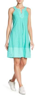 Tommy Bahama Arden Embroidered Sleeveless Dress