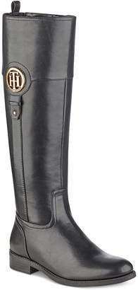 Tommy Hilfiger Ilia Riding Boots, Women Shoes