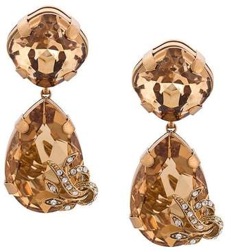Dolce & Gabbana teardrop earrings