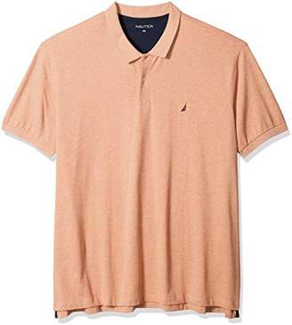 Nautica Men's Big Tall Short Sleeve Solid Deck Polo Shirt