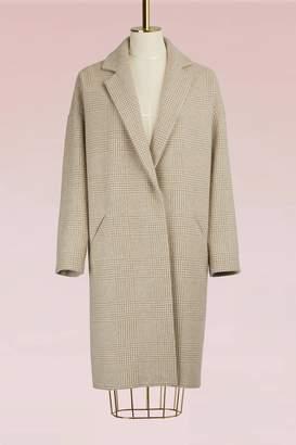 32 Paradis Sprung Freres Glen Plaid Coat