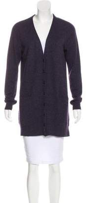 Magaschoni Cashmere Button-Up Cardigan