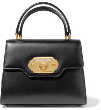 Dolce & Gabbana Welcome Medium Leather Tote - Black