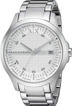 Armani Exchange A|X  Men's AX2177 Hampton Analog Display Analog Quartz Watch