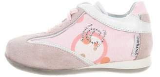 Cacharel Girls' Embellished Suede Sneakers