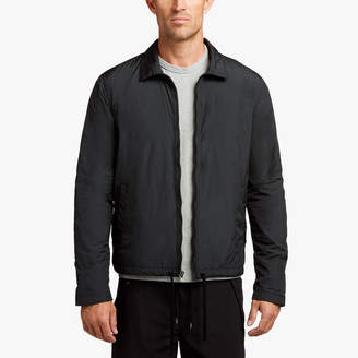 James Perse JERSEY LINED TAFFETA COACH JACKET